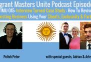 immigrant masters unite interviews immigrant entrepreneurs